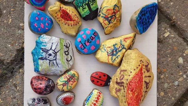 Rocks have been spotted at multiple locations across Portsoy.