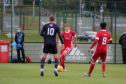 Dean Campbell in action against Ross County for Aberdeen at the weekend.