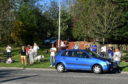 Residents recently stood outside Kingswells Care Home attending a clap for NHS workers and carers