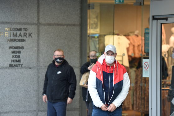 The wearing of masks has become compulsory in enclosed public spaces.
