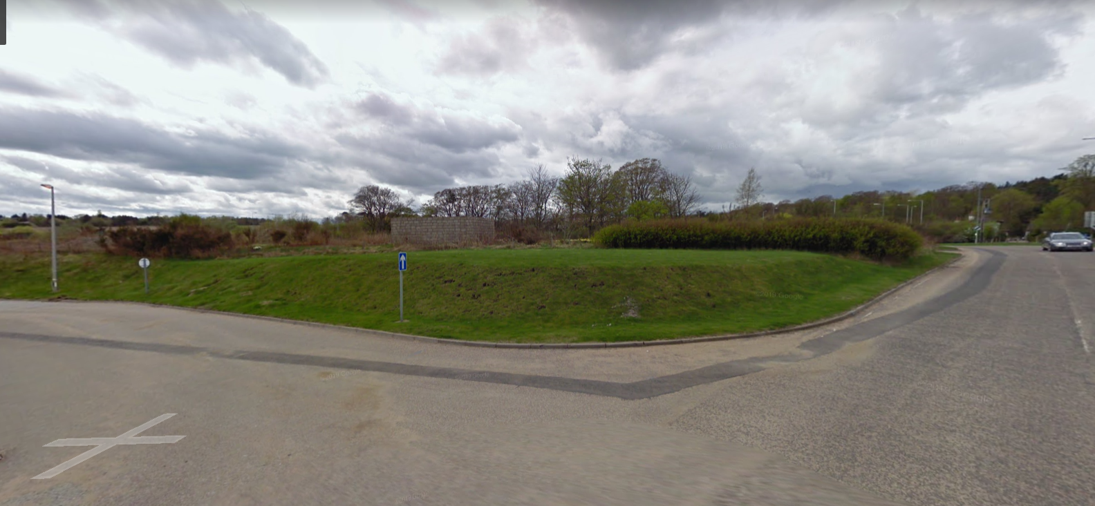 Plans for a new business park have been proposed in Thainstone