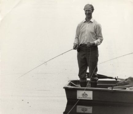 Frank fished with Leeds United and England defender Jack Charlton in 1984