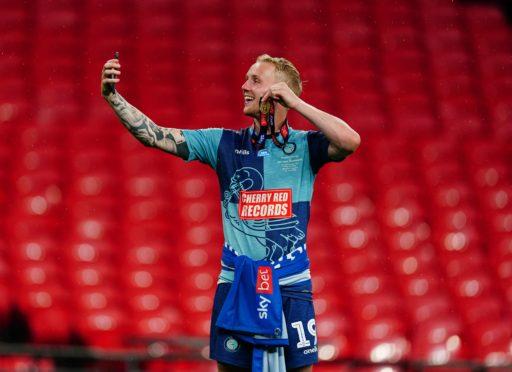 Jack Grimmer at Wembley.