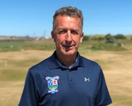 Steve Thomson, who is captain at Fraserburgh Golf Club.