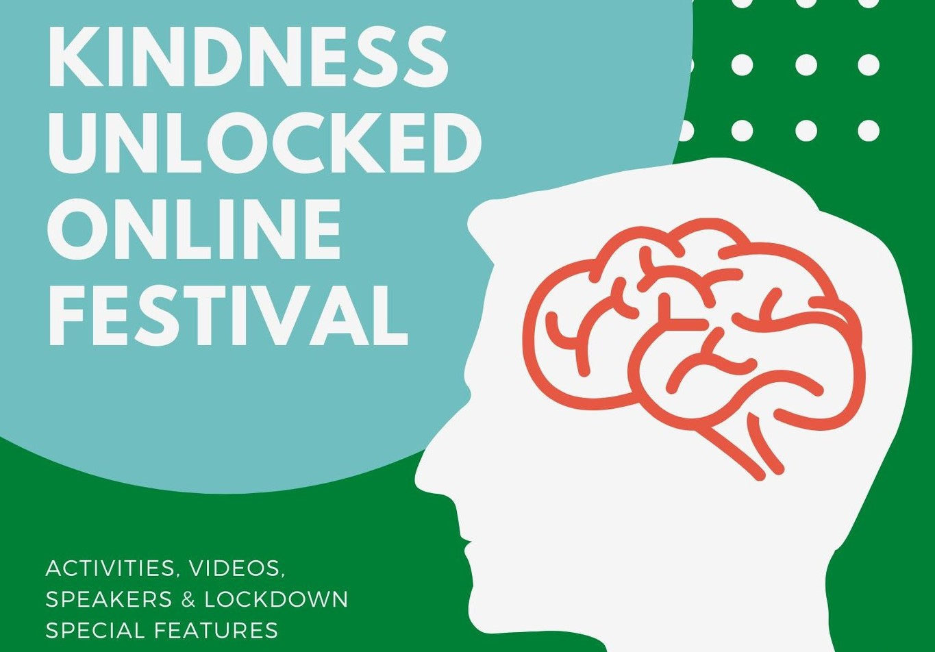 The Kindness Unlocked Online Festival is set to be Aberdeen's largest online mental health and wellbeing event to date