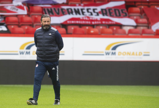 Aberdeen manager Derek McInnes can lead them into the Europa League third qualifying round
