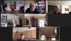 One of Deeside Stroke Group's lockdown Zoom meetings