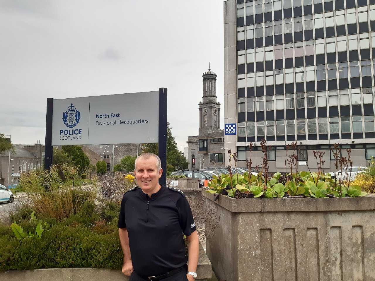 Chief Inspector David Paterson, Partnerships & Events
