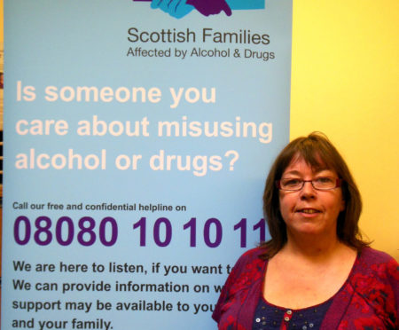 Tanja Mehrer of the Aberdeenshire Alcohol and Drug Partnership