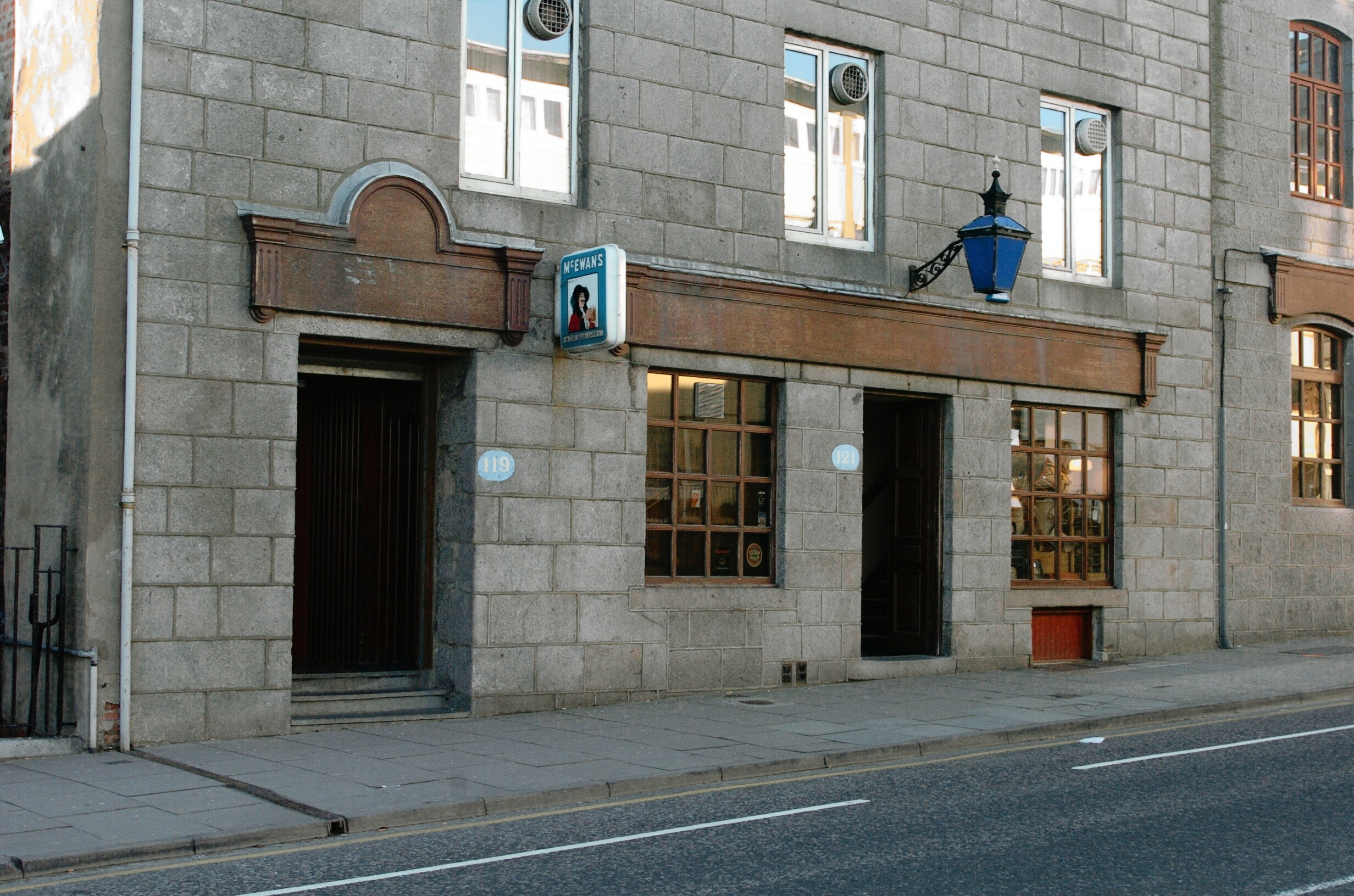 The Blue Lamp on Gallowgate. Picture by Amanda Gordon