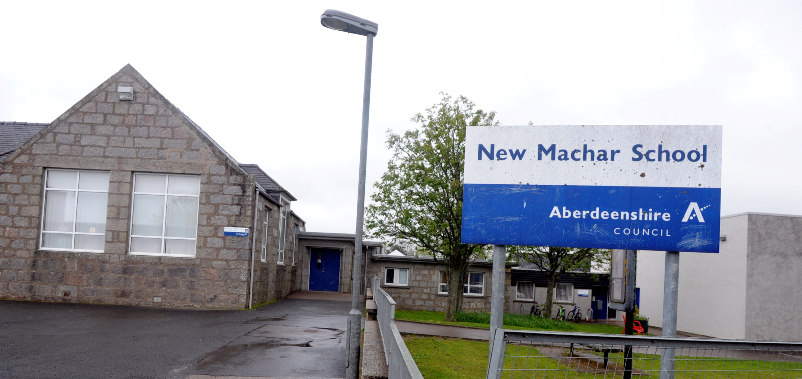 A petition concerning transport for children from Kingseat to New Machar School is to be discussed at a council meeting
