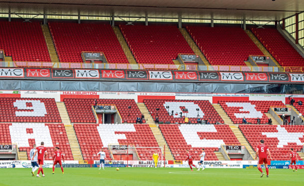 Aberdeen were set to play Hamilton at Pittodrie tomorrow.