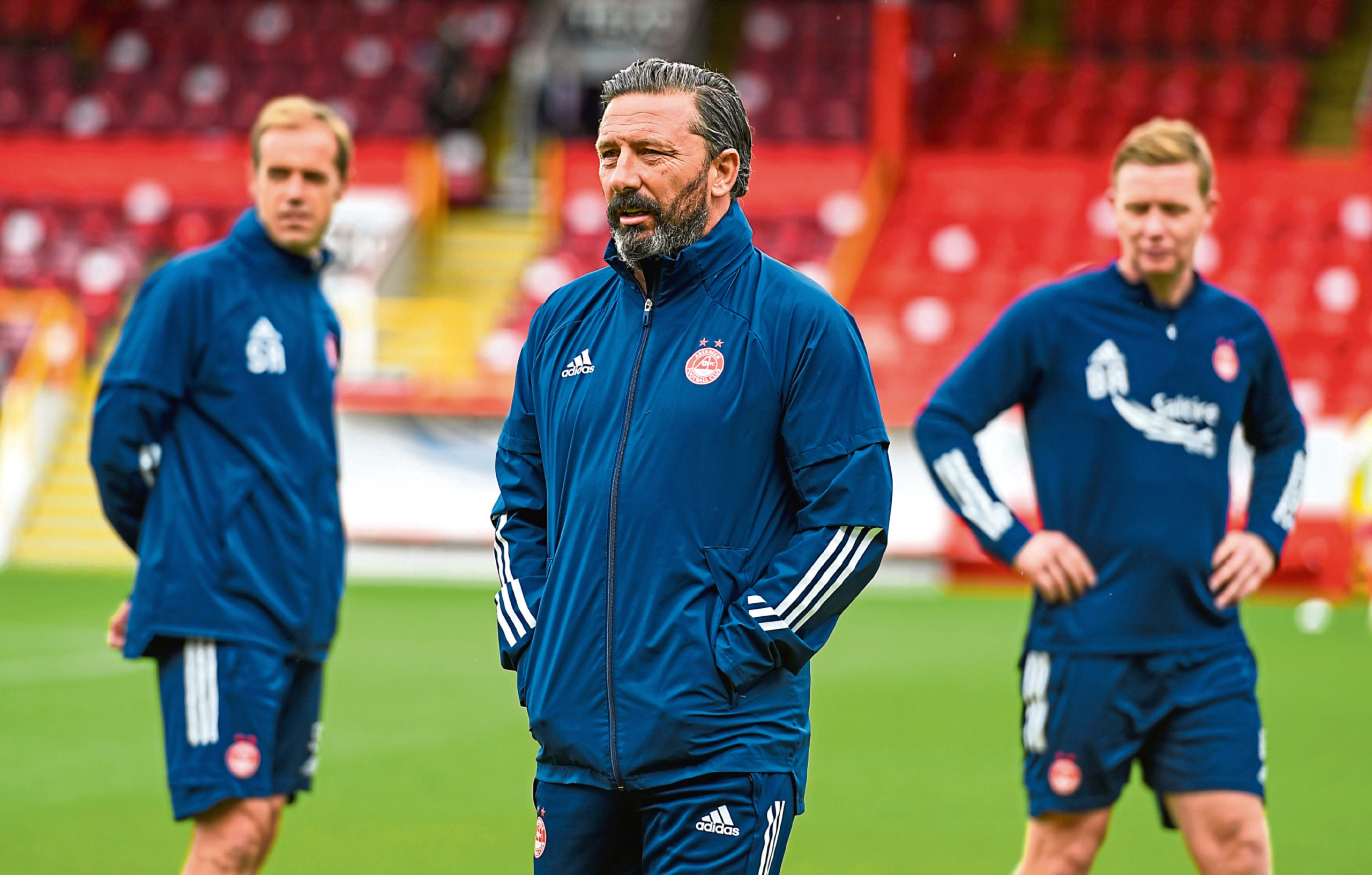 Derek McInnes and his coaching staff will have decisions to make ahead of the trip to St Johnstone.