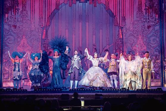 HMT Panto review - Cinderella  Handout pics  His Majesty's Theatre Pantomime 2019. Cinderella.