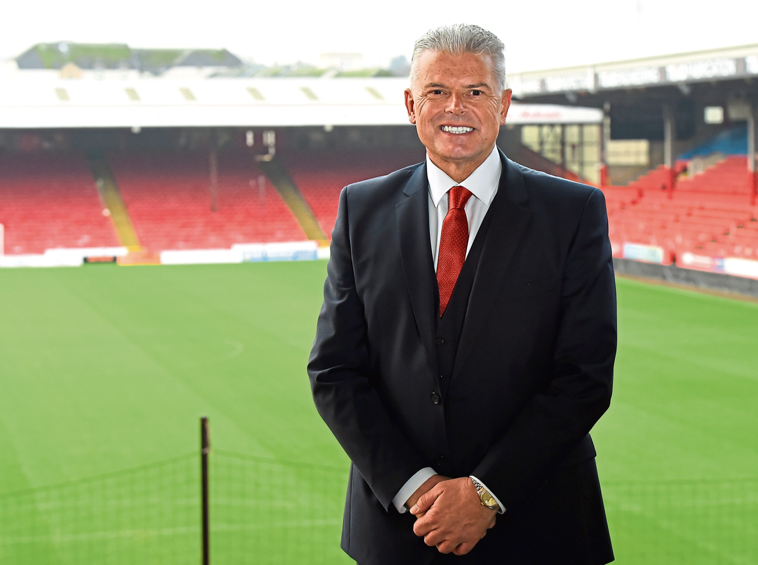 Aberdeen chairman Dave Cormack said Glass was steeped in the 'Aberdeen Way'.