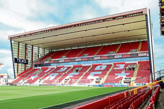 Pittodrie will welcome 300 Dons fans on Saturday
