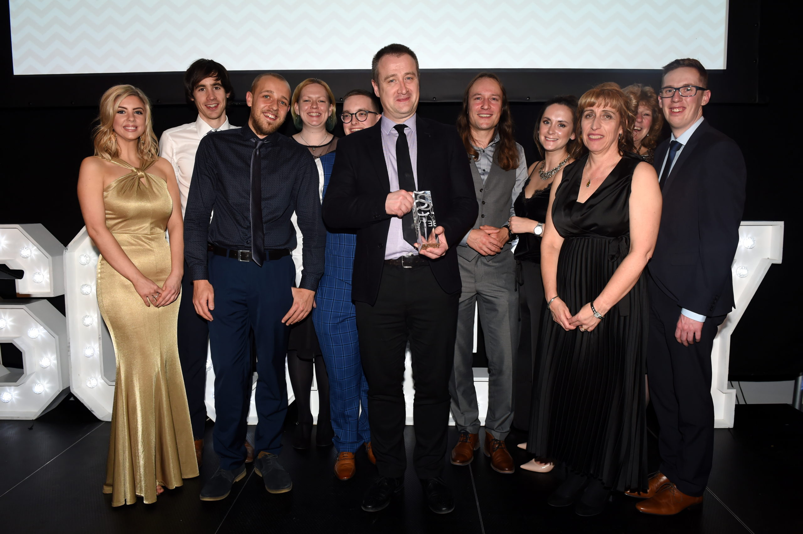 Sport Aberdeen received the accolade for Leisure/Fitness Facility of the Year at the inaugural Society Awards.