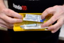 A naloxone kit, which has been the subject of discussions at the Drug Deaths Taskforce
