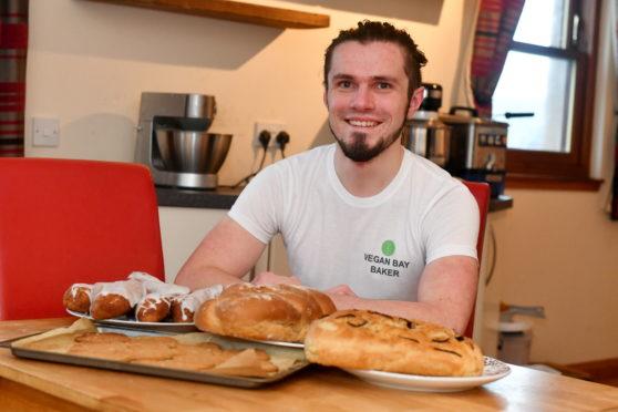 Steven Buchan founded Vegan Bay Baker in July 2019.