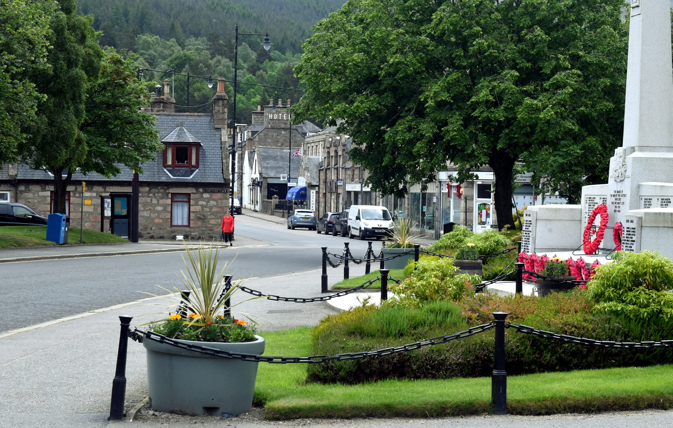 Businesses in Ballater will be among those to benefit