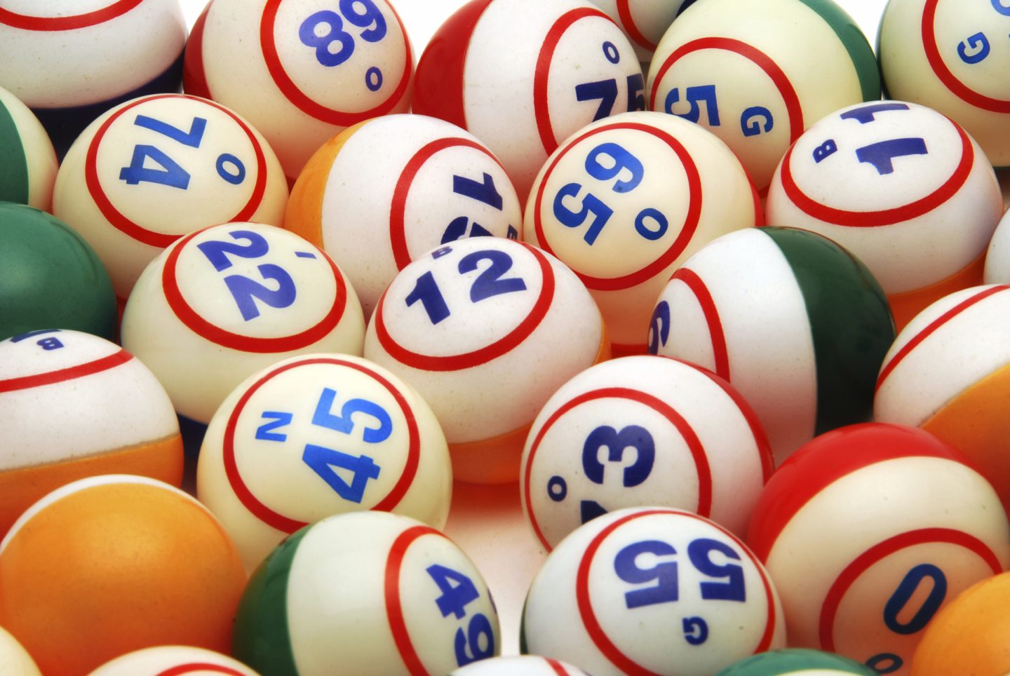 Bingo balls    FOR BUSINESS