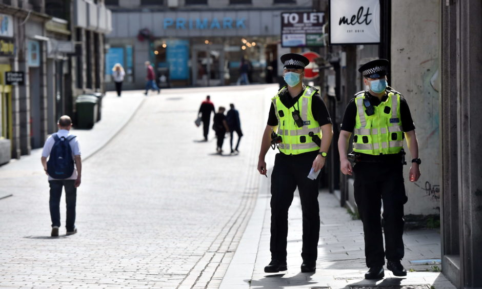 The first minister ruled out a second full lockdown for Scotland