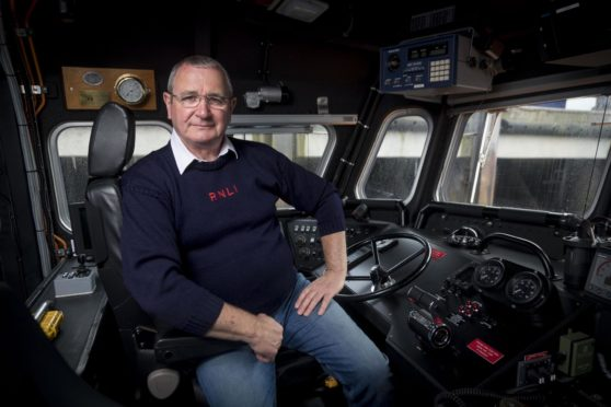 Bill Deans MBE, operations manager for Aberdeen Lifeboat