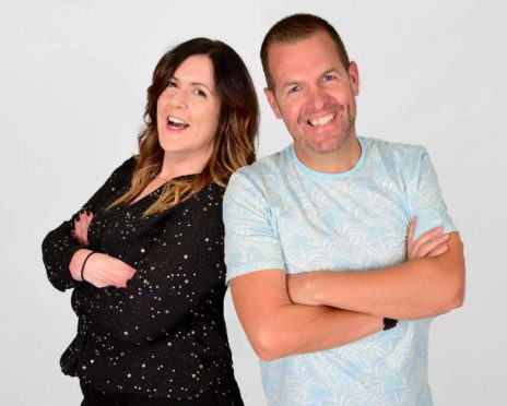 Big Breakfast show presenters on Original 106FM, Claire Stevenson and Craig Lumsden, will be doing the presenting honours