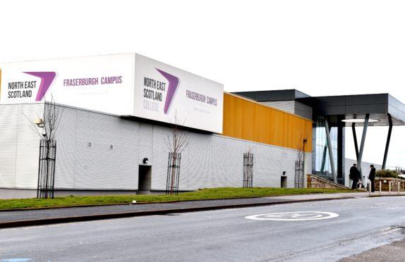 North East Scotland College Fraserburgh Campus. Picture by Colin Rennie