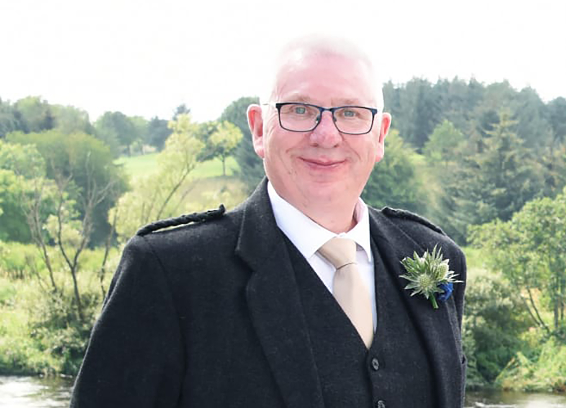 A fundraiser has been set up in memory of Donald Dinnie