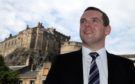 Scottish Conservative MP Douglas Ross in Edinburgh, after he confirmed he will stand for the leadership of the Scottish Conservatives following the sudden resignation of Jackson Carlaw after less than six months in the post.