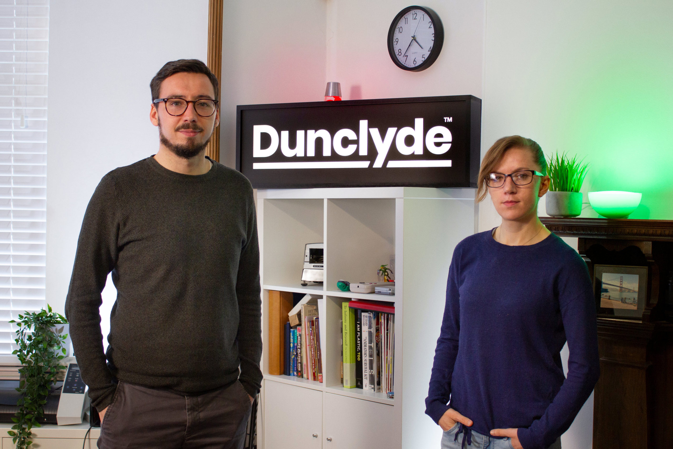 Dunclyde directors Daniel Clydesdale and Eilidh Dunsire