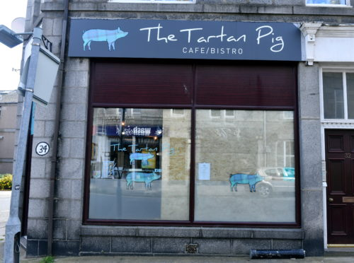 The Tartan Pig on Hollybank Place. Picture by Chris Sumner