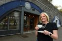 Leanne Flockhart is the new owner of local cafe Sweet Mumma's Kitchen. Picture by Kenny Elrick