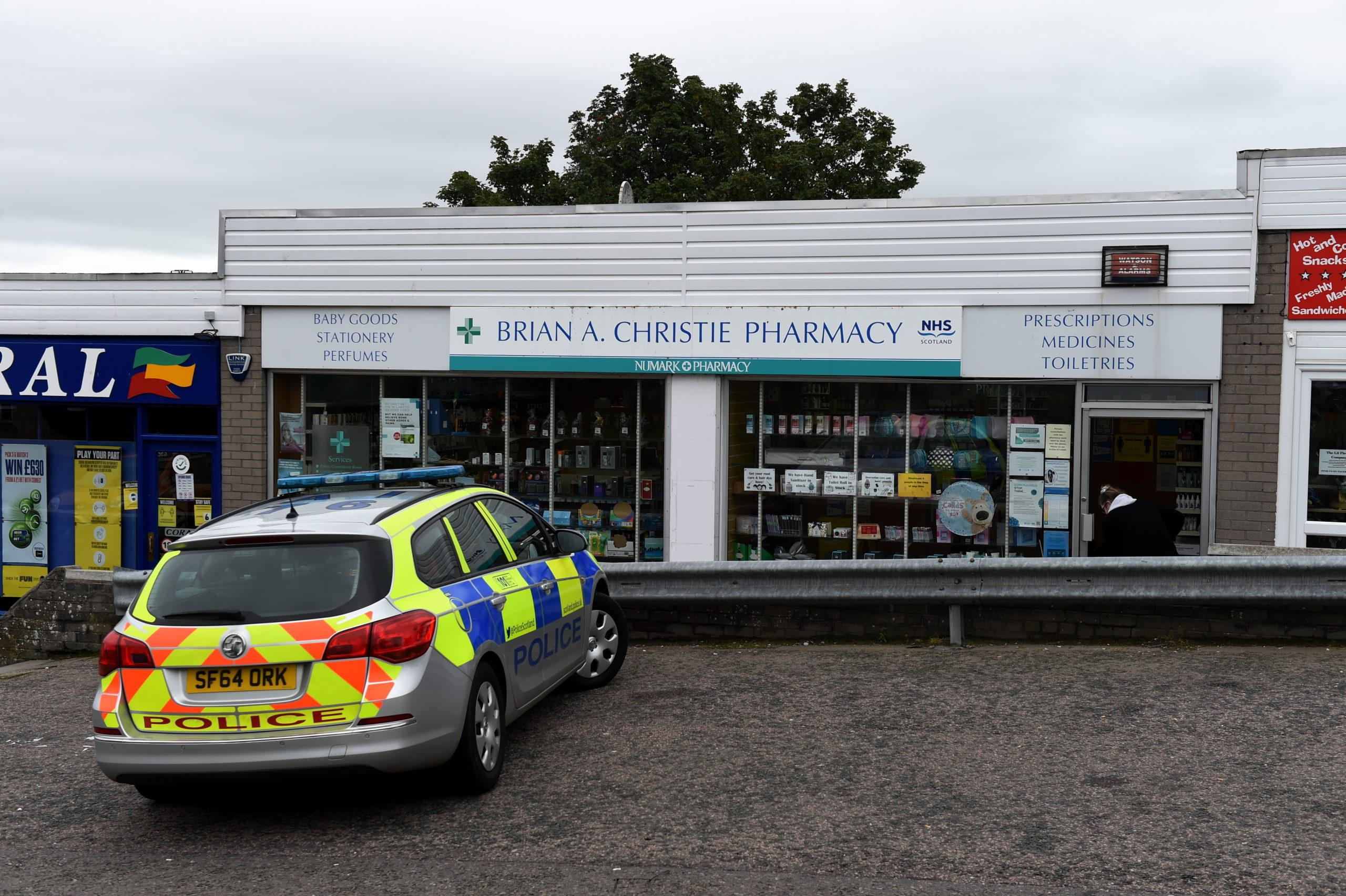 Brian A Christie Pharmacy in Bucksburn