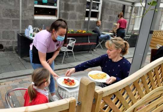 Hospitality businesses could be in line for extra funding from the Scottish Government. Picture: Kami Thomson