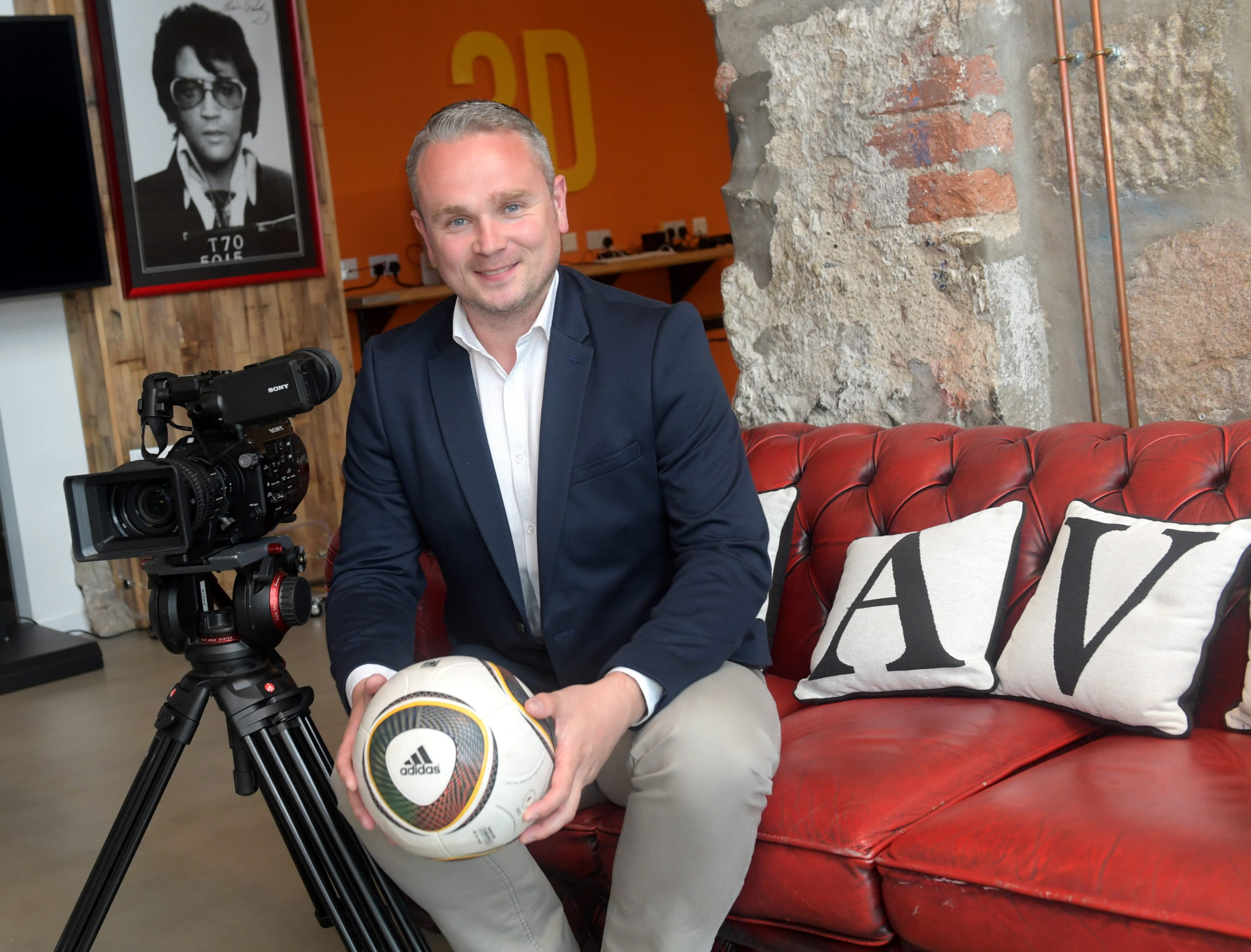 New AVC Immedia operations director Keith Robertson. Picture by Kath Flannery