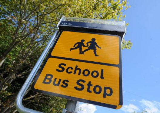 Pupils in Aberdeenshire will go back to school on Wednesday. Picture by Chris Sumner