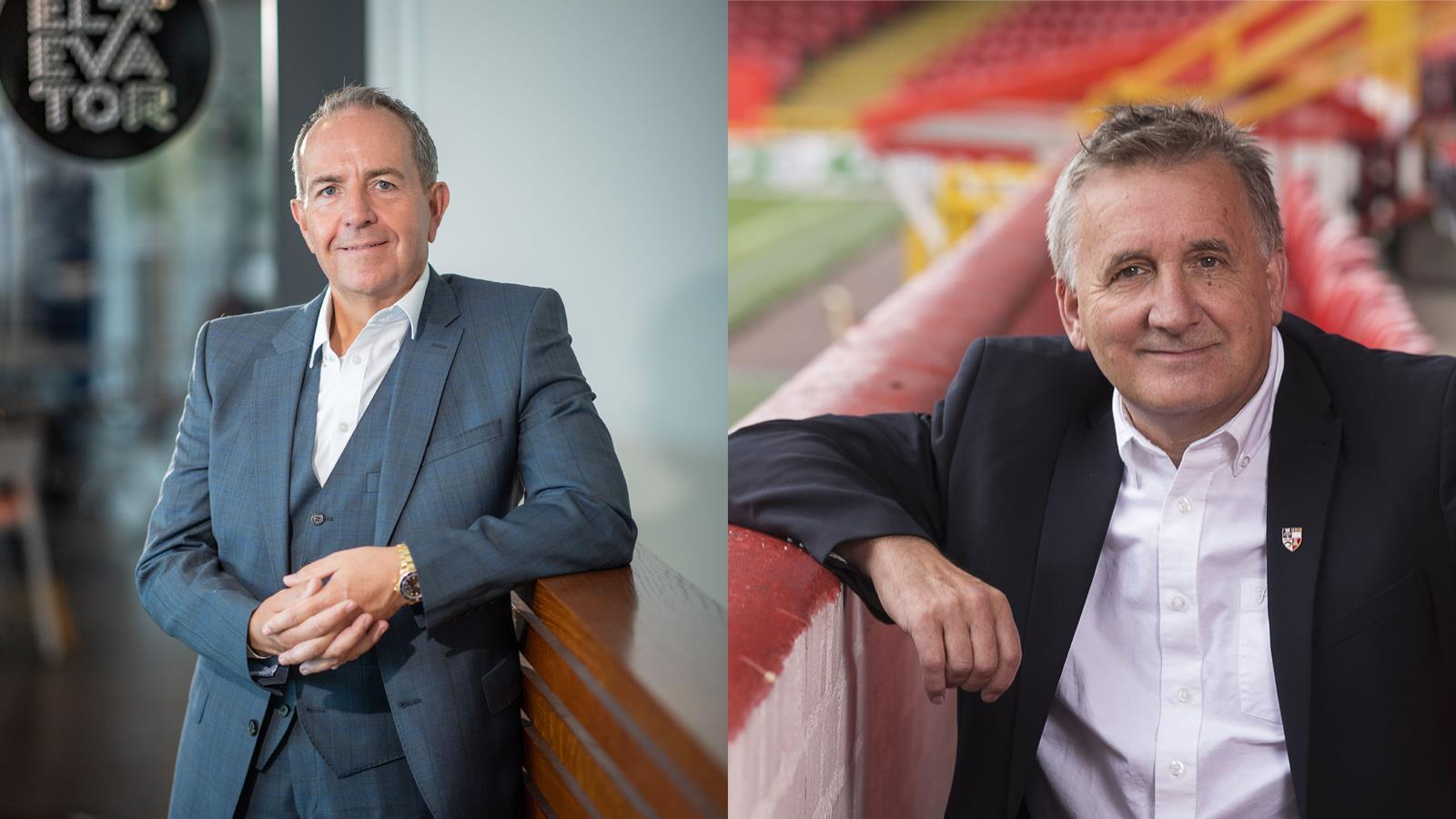 Two local businessmen have been honoured by Aberdeen University