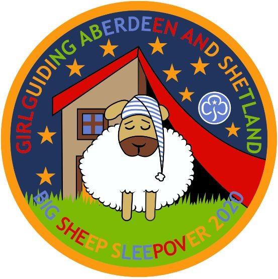 The Big Sheep Sleepover badge