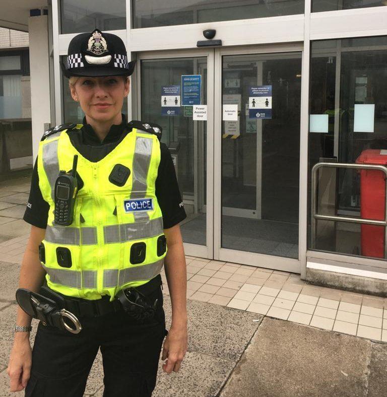 Inspector Sheila McDerment
