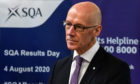 John Swinney had faced fury over his handling of pupils' grades.