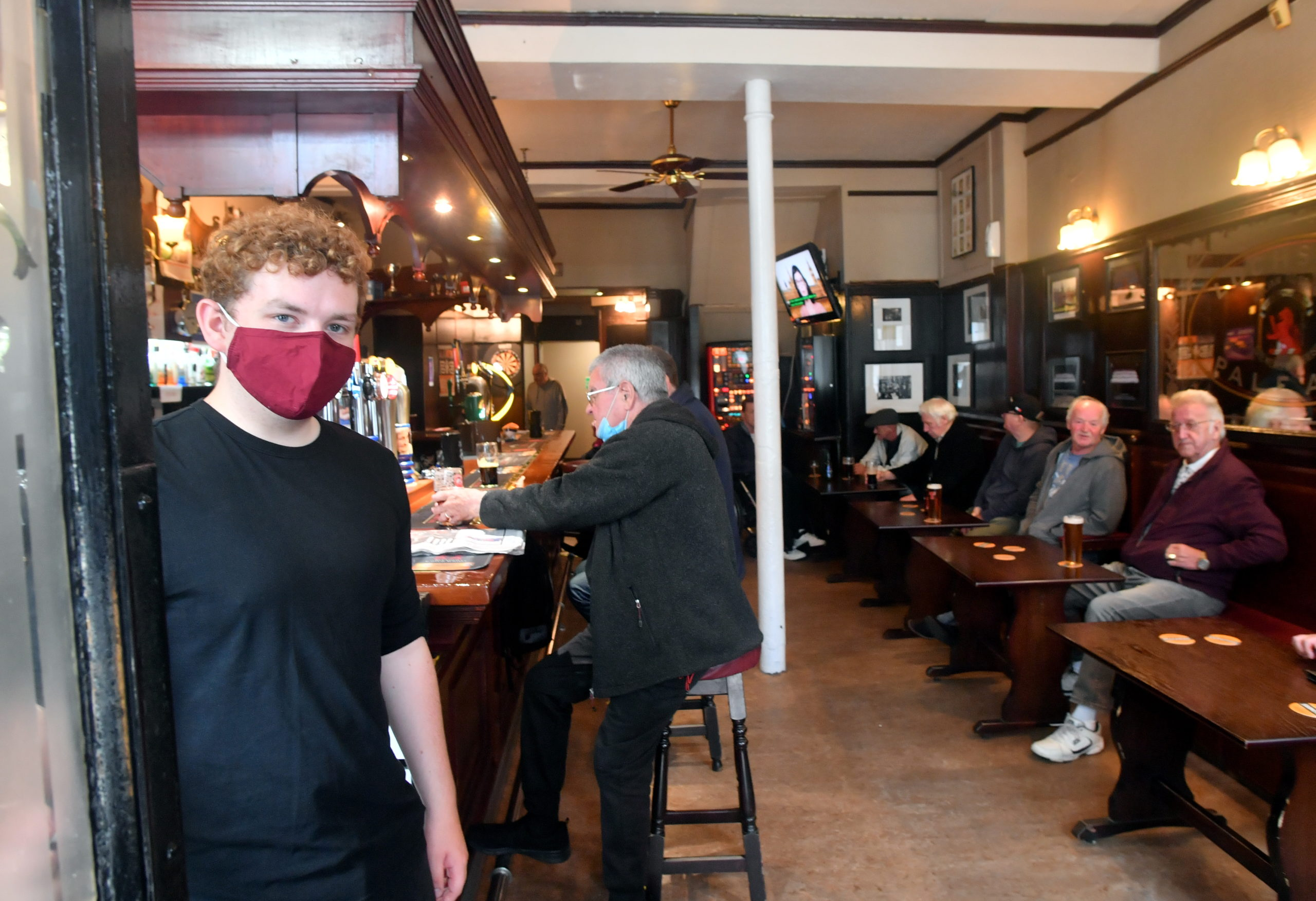 Pubs, cafes and restaurants are open for business once again