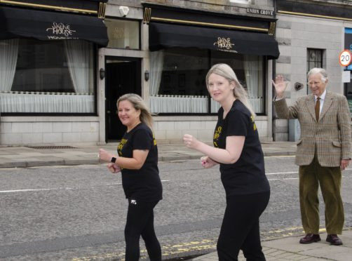 Kim Strath and Susan Aitken will walk 26-miles to raise funds for Charlie House