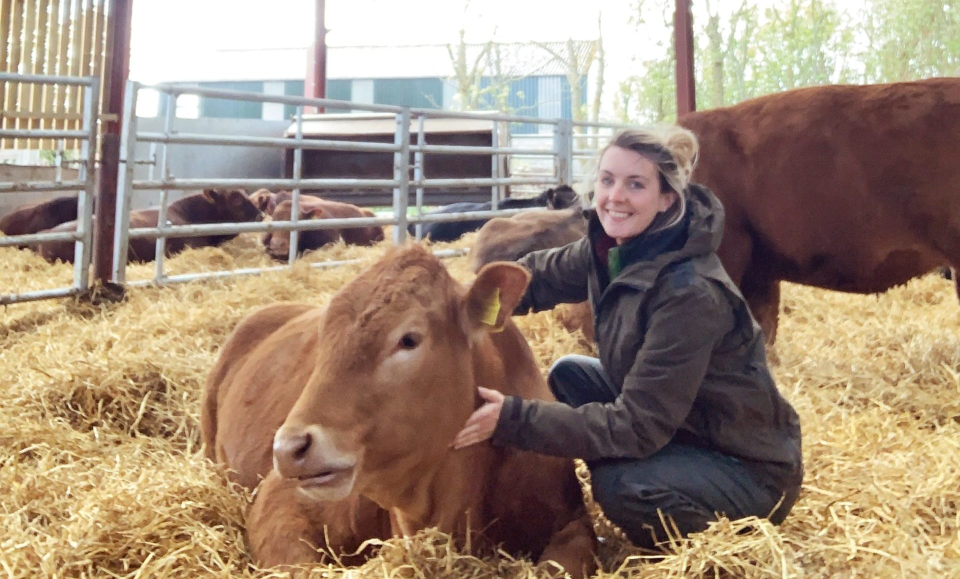 Louise Munro, one of the new ambassadors for Soil Association Scotland