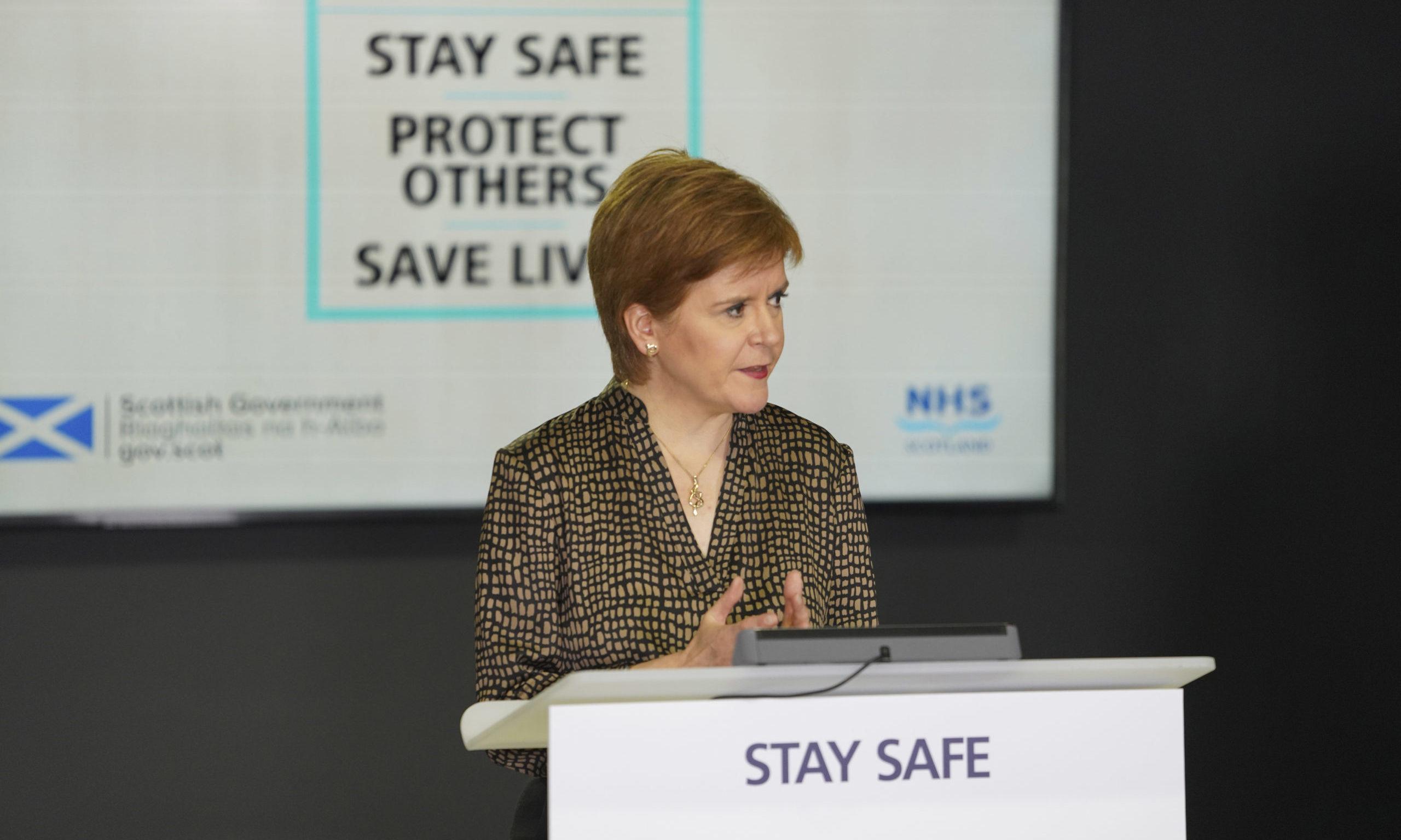Nicola Sturgeon announced the funding pot today