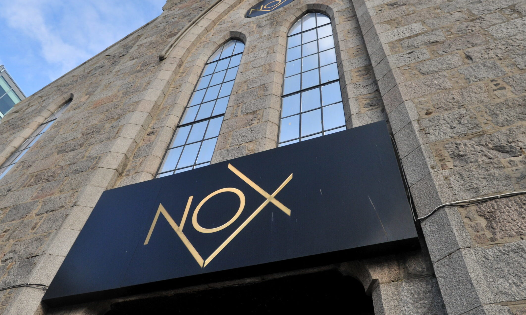Nox nightclub, Justice Mill Lane, Aberdeen.