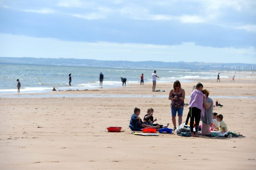 Balmedie Beach. Picture by Kenny Elrick