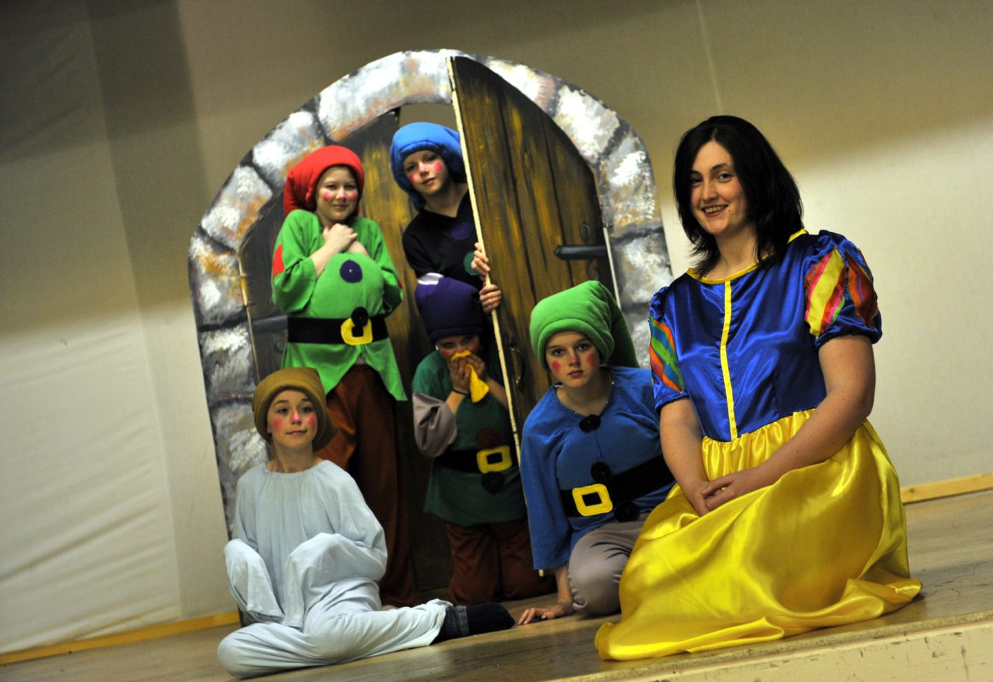 Culter Theatre Club production of Snow White. Picture by Kami Thomson