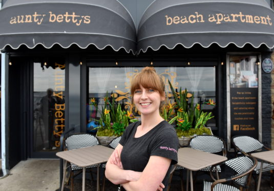 Aunty Bettys, pictured before lockdown